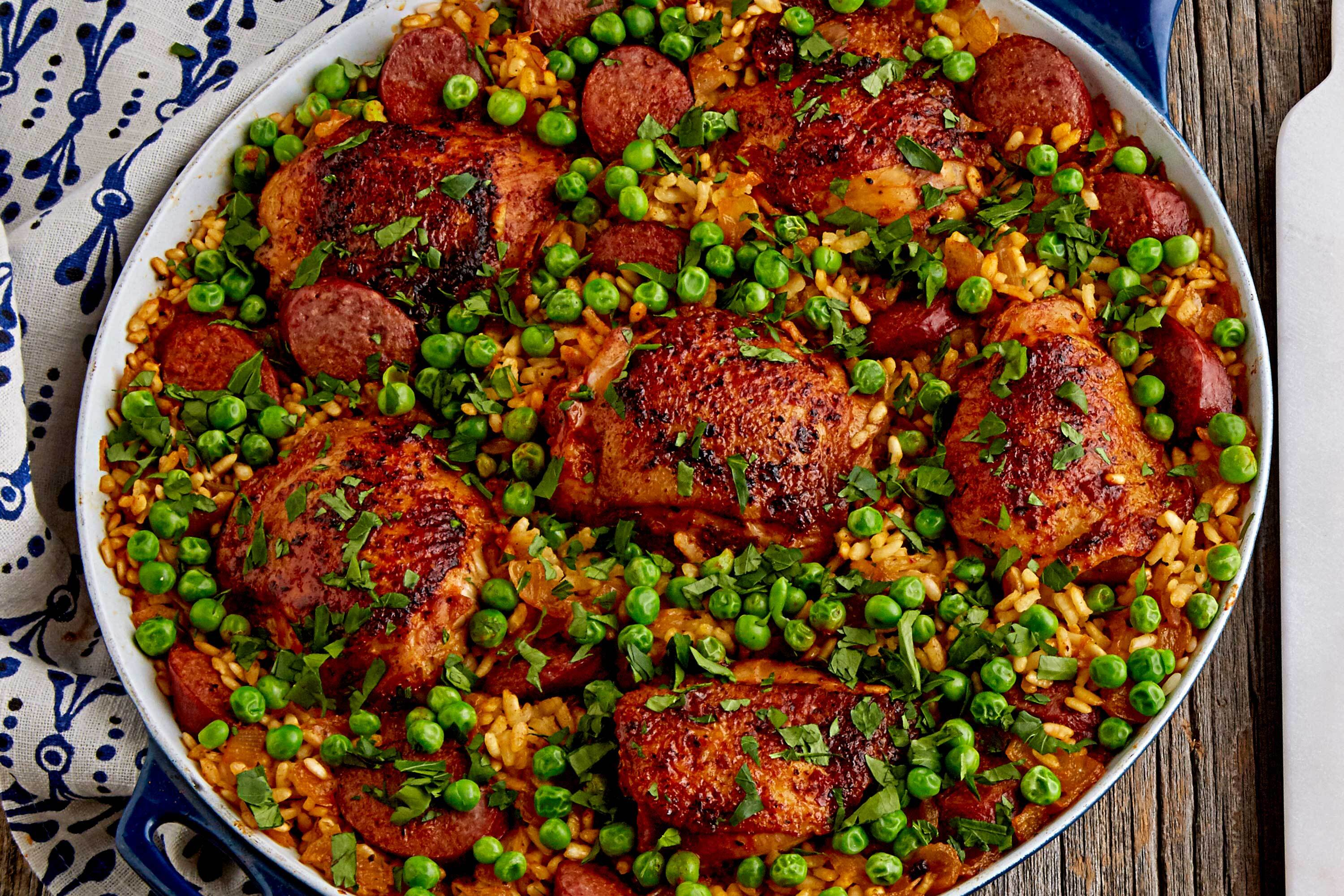 Sausage and Chicken Paella
