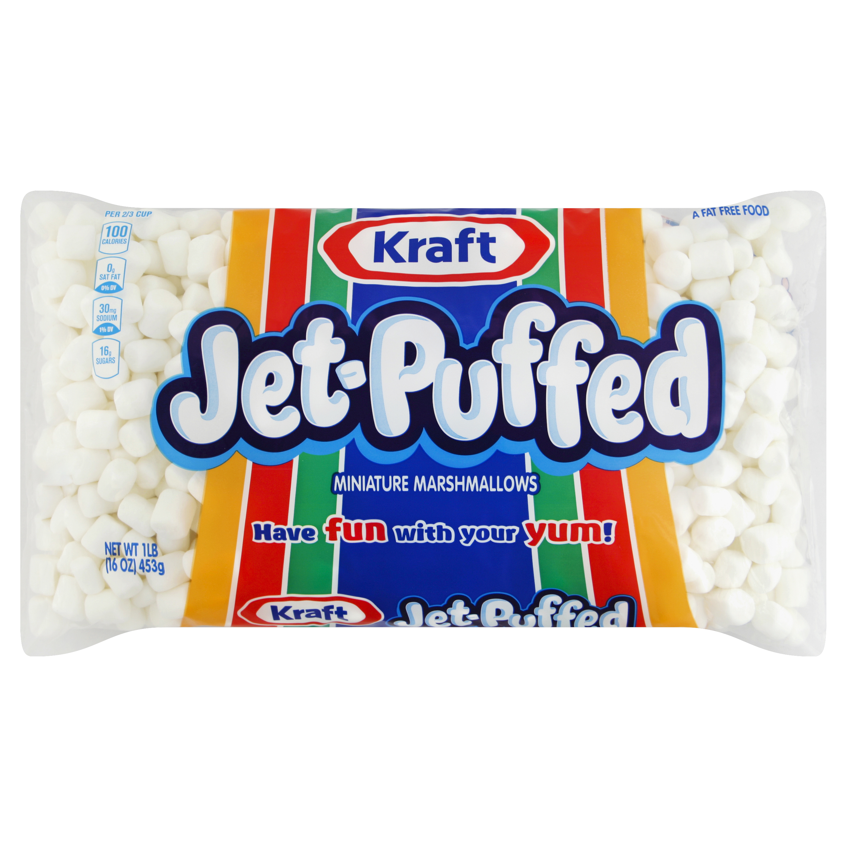 Jet-Puffed Mini Marshmallows, 16 oz. image