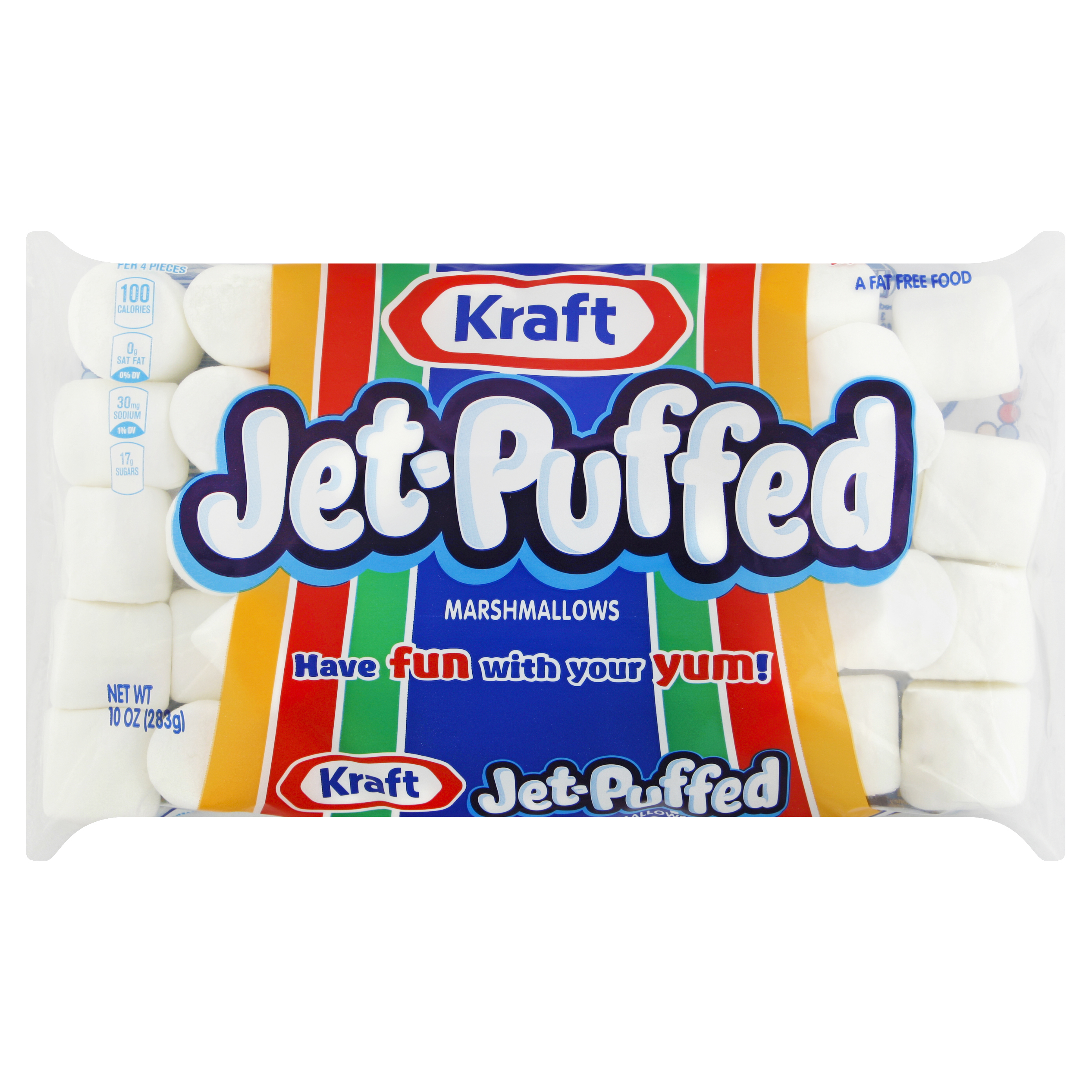 Jet-Puffed Regular Marshmallows, 10 oz. image