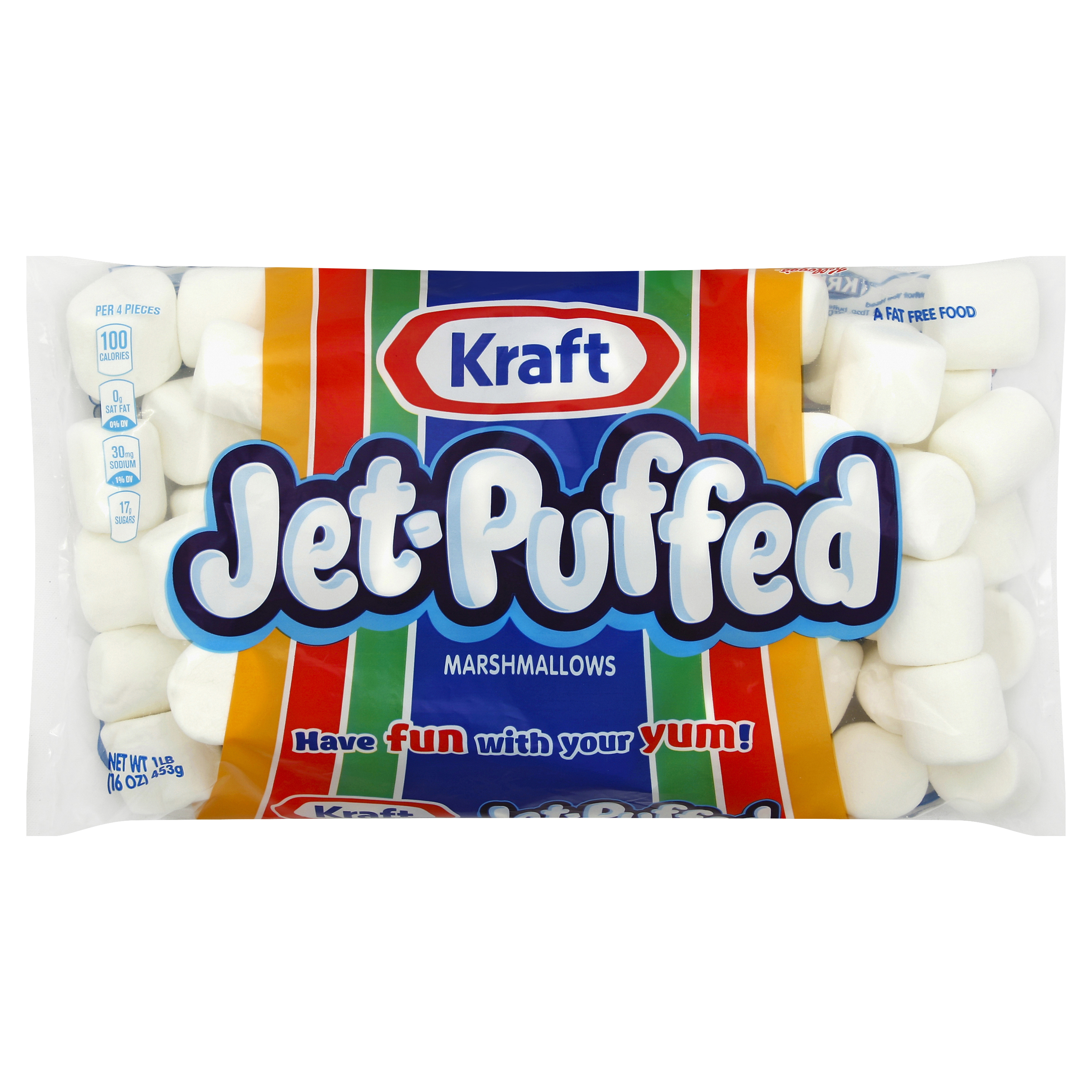 Jet-Puffed Regular Marshmallows, 16 oz.