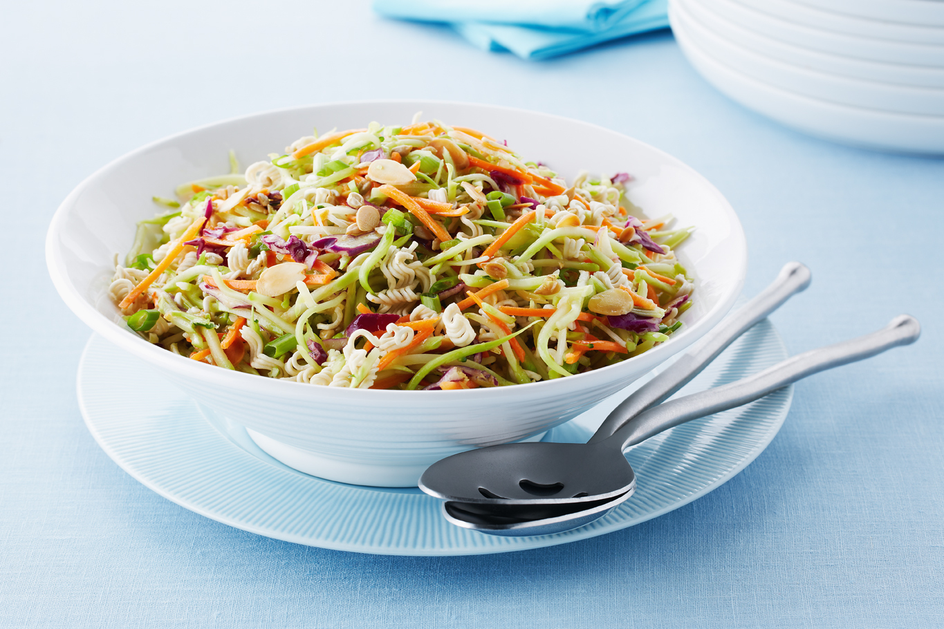 Crunchy Asian Broccoli Coleslaw Recipe