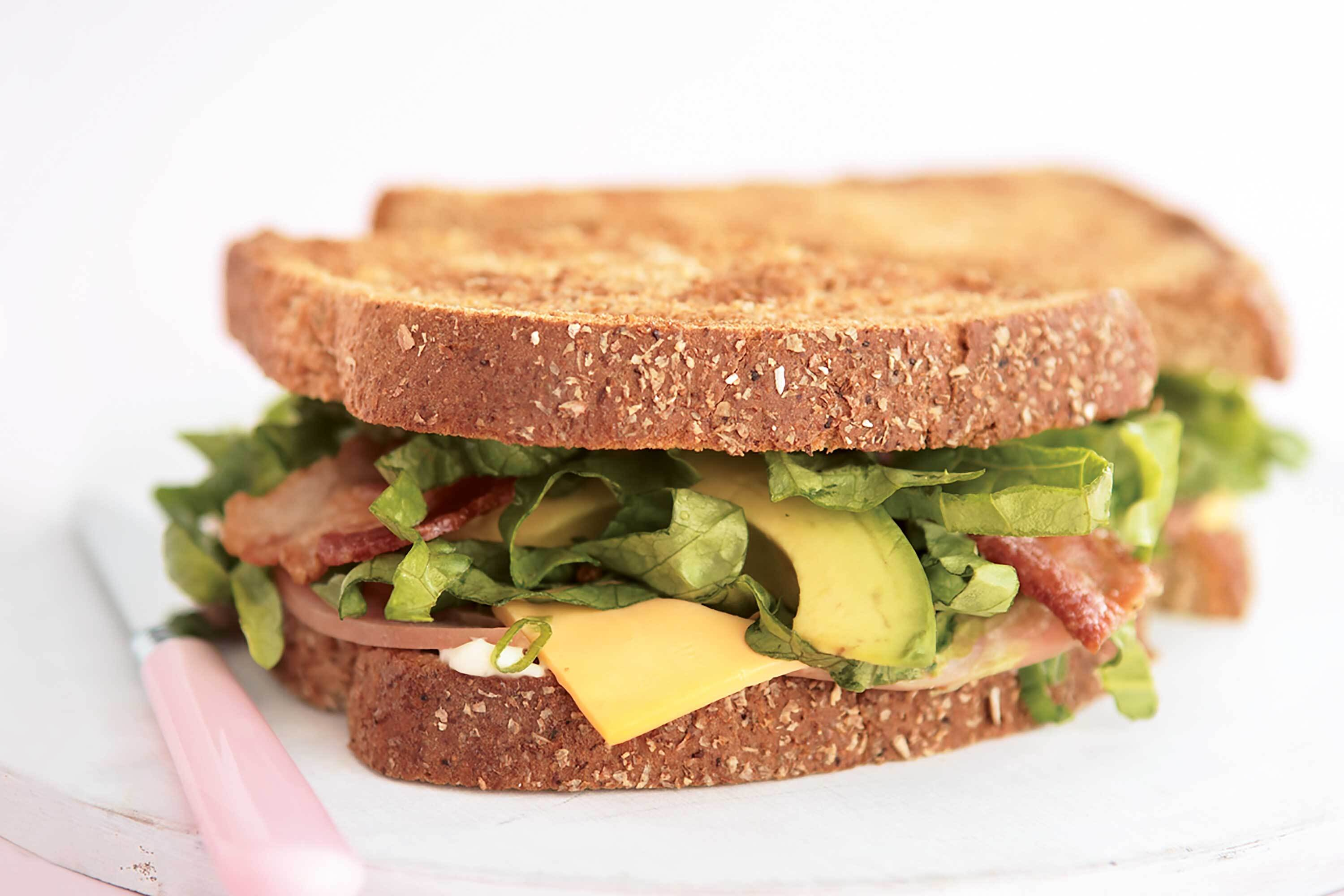 Avocado| Bacon| Ham & Cheese Sandwich
