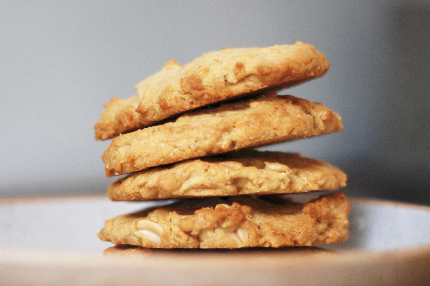 Peanut Butter-Oatmeal Cookies