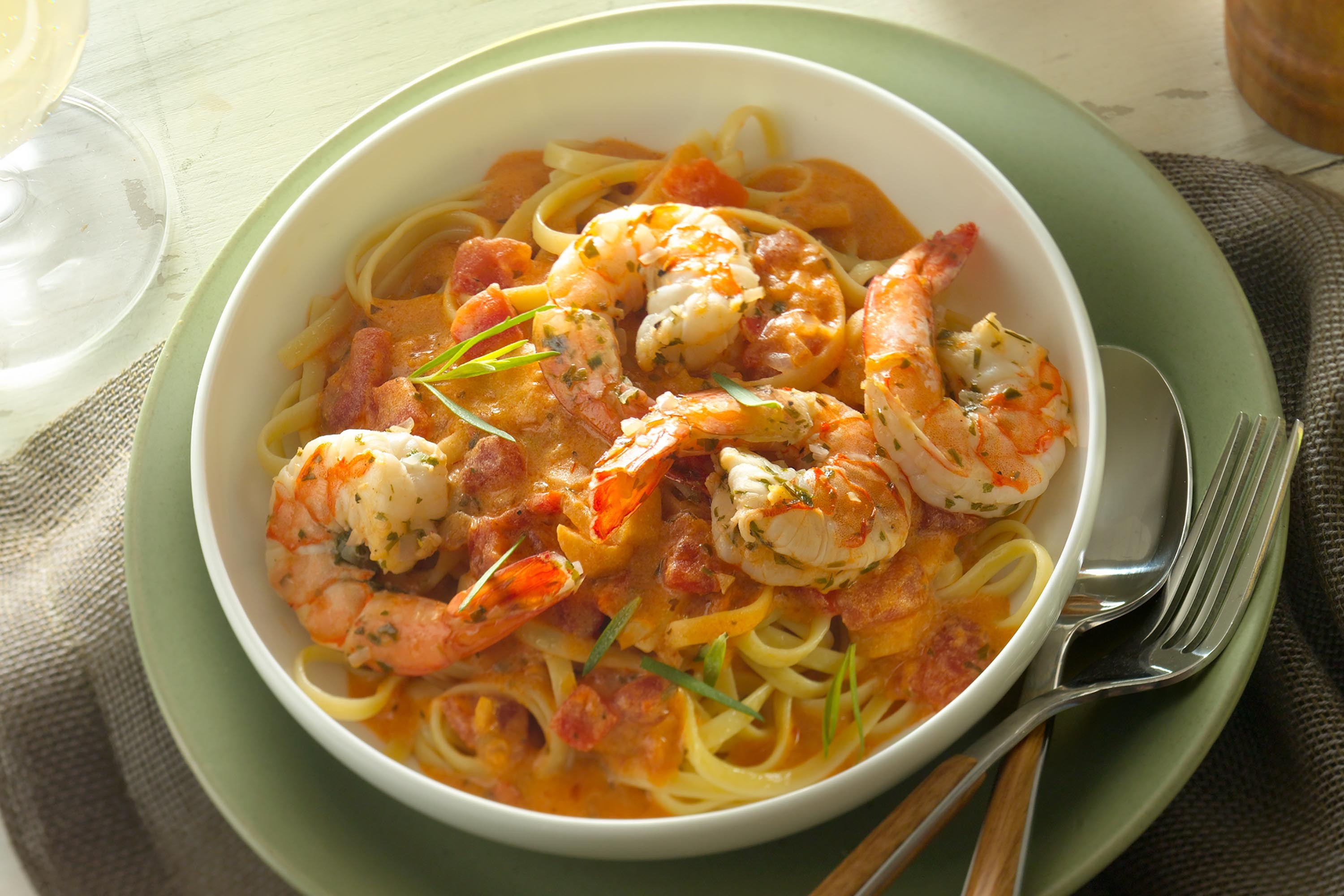 Zesty Shrimp Pasta with Garlic
