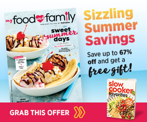 click to My Food and Family Magazine