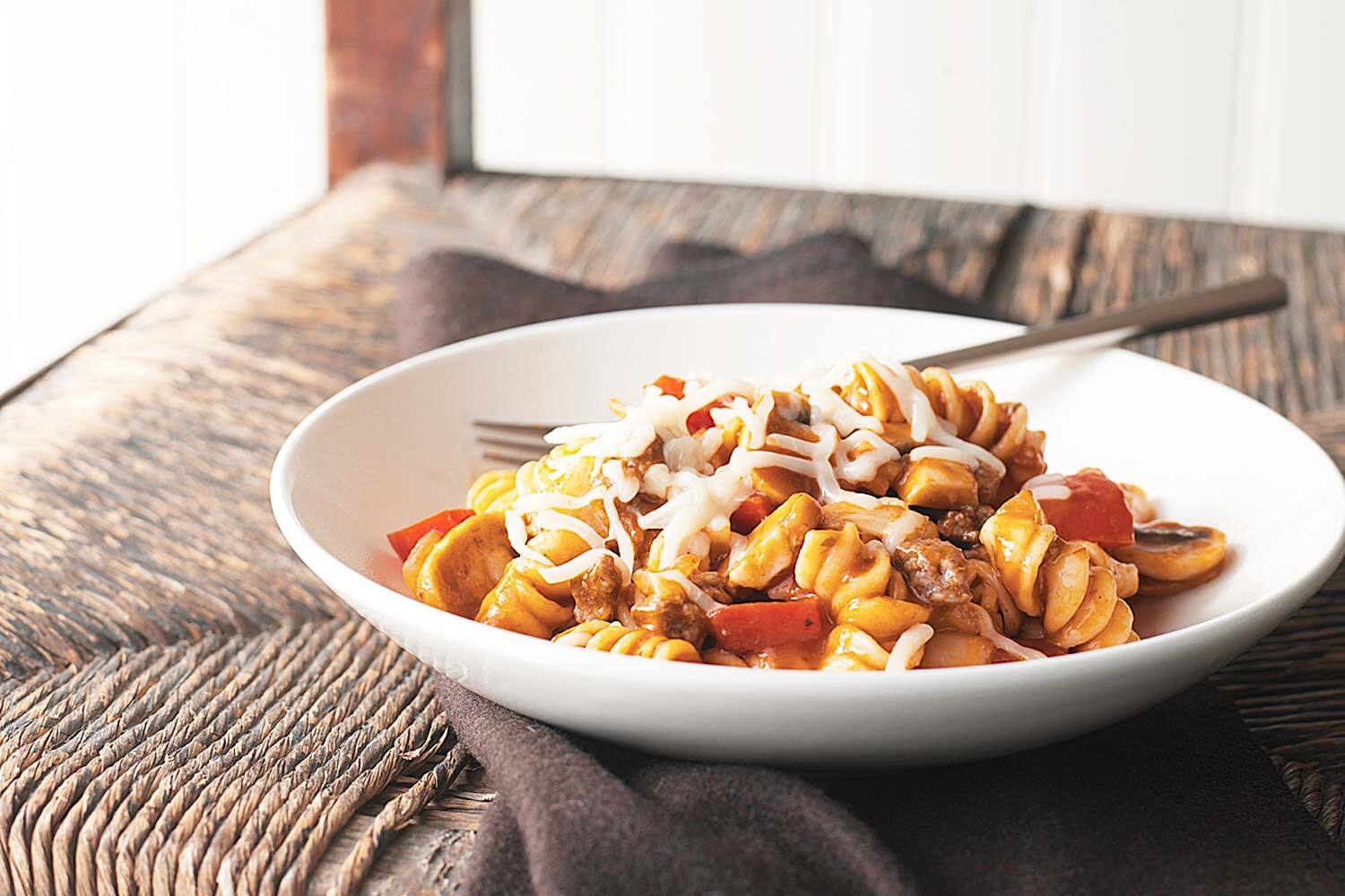 All In One Pot Saucy Pasta Image 1