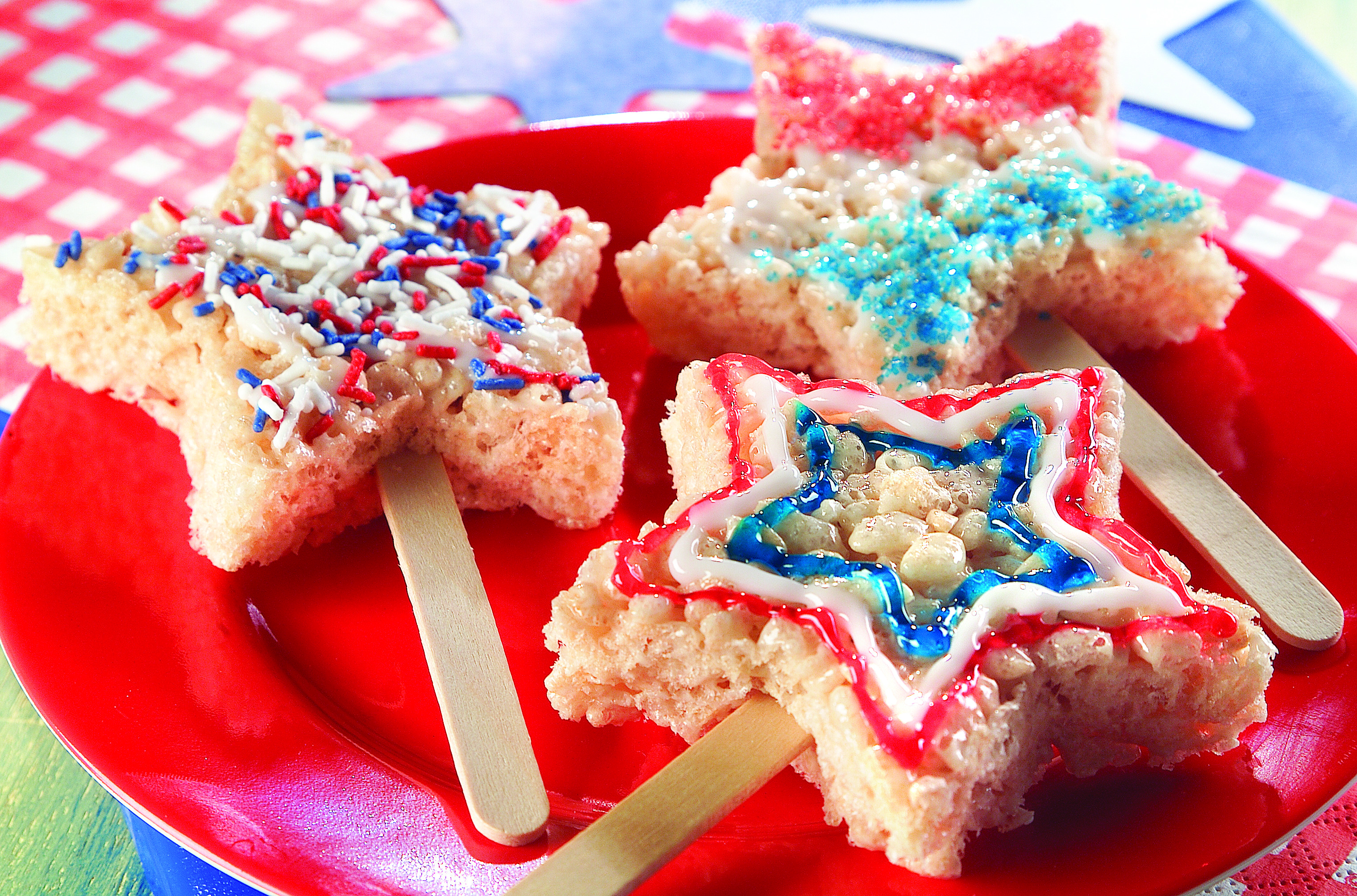 Marshmallow Star-Shaped Cereal Treats