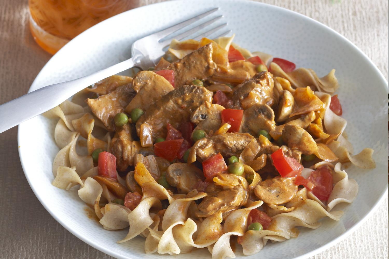 Creamy Beef & Mushrooms with Noodles Image 1
