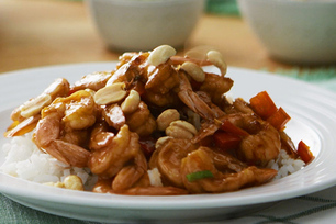 Crevettes Kung Pao