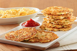 Cauliflower 'Hash Browns' with Ketchup