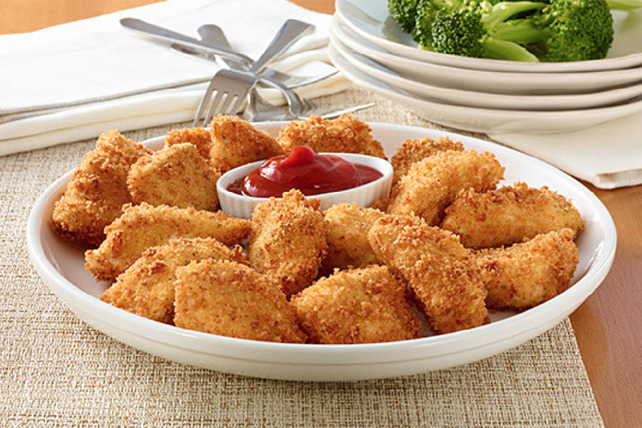 Baked Chicken Nuggets with Ketchup Image 1