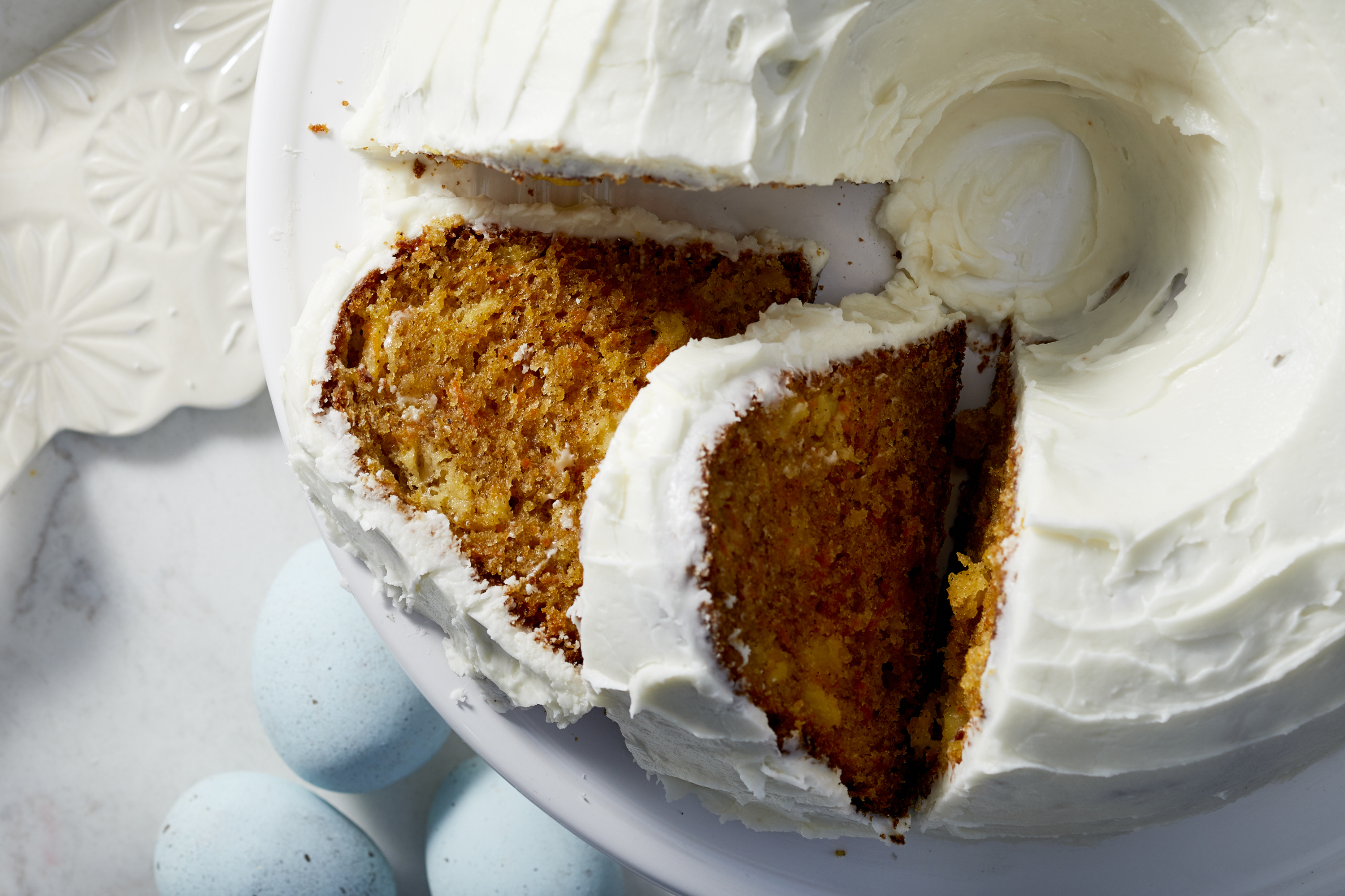 Easy Carrot Cake with Cream Cheese Frosting Image 1