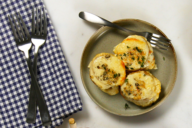 Blue Cheese Stacked Potatoes Image 1