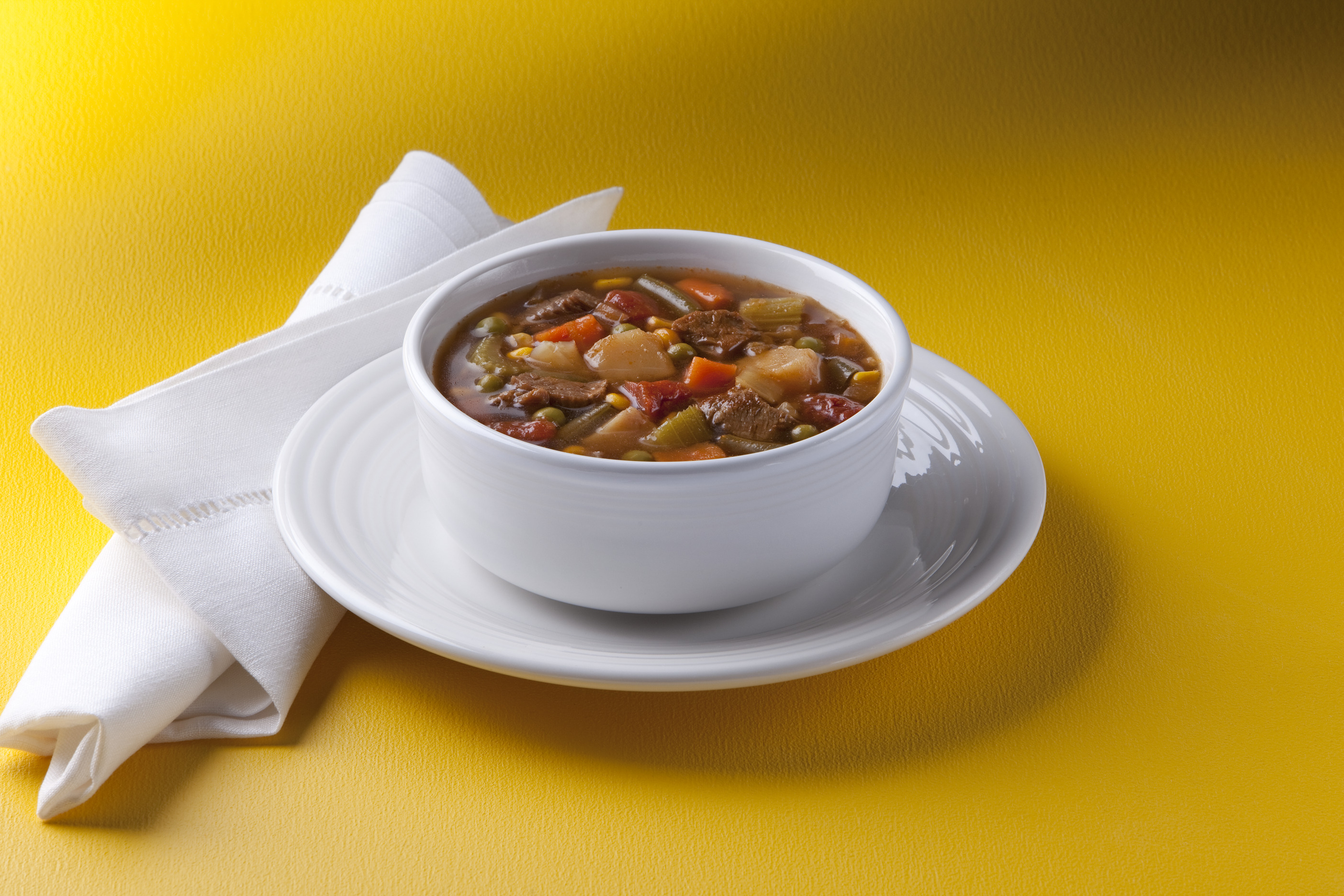 Chef Francisco Hearty Vegetable Beef Soup, 8 lb. image