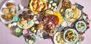 8 Festive Easter Grazing Table Recipes