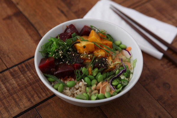 Vegetarian Poke Bowl