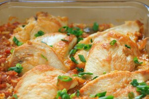 Baked Chicken and Rice
