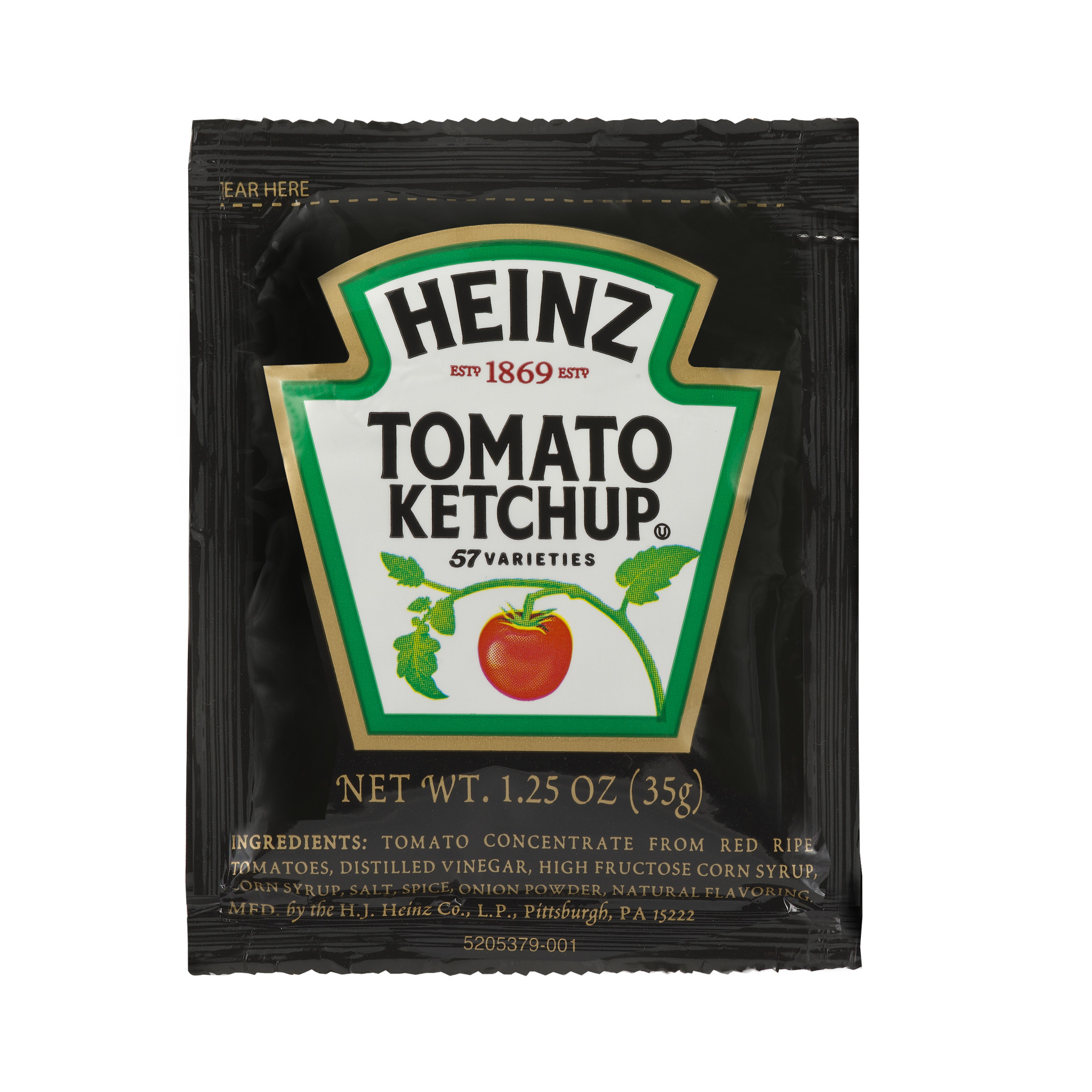 Heinz Ketchup Packet, 1.25 oz.
