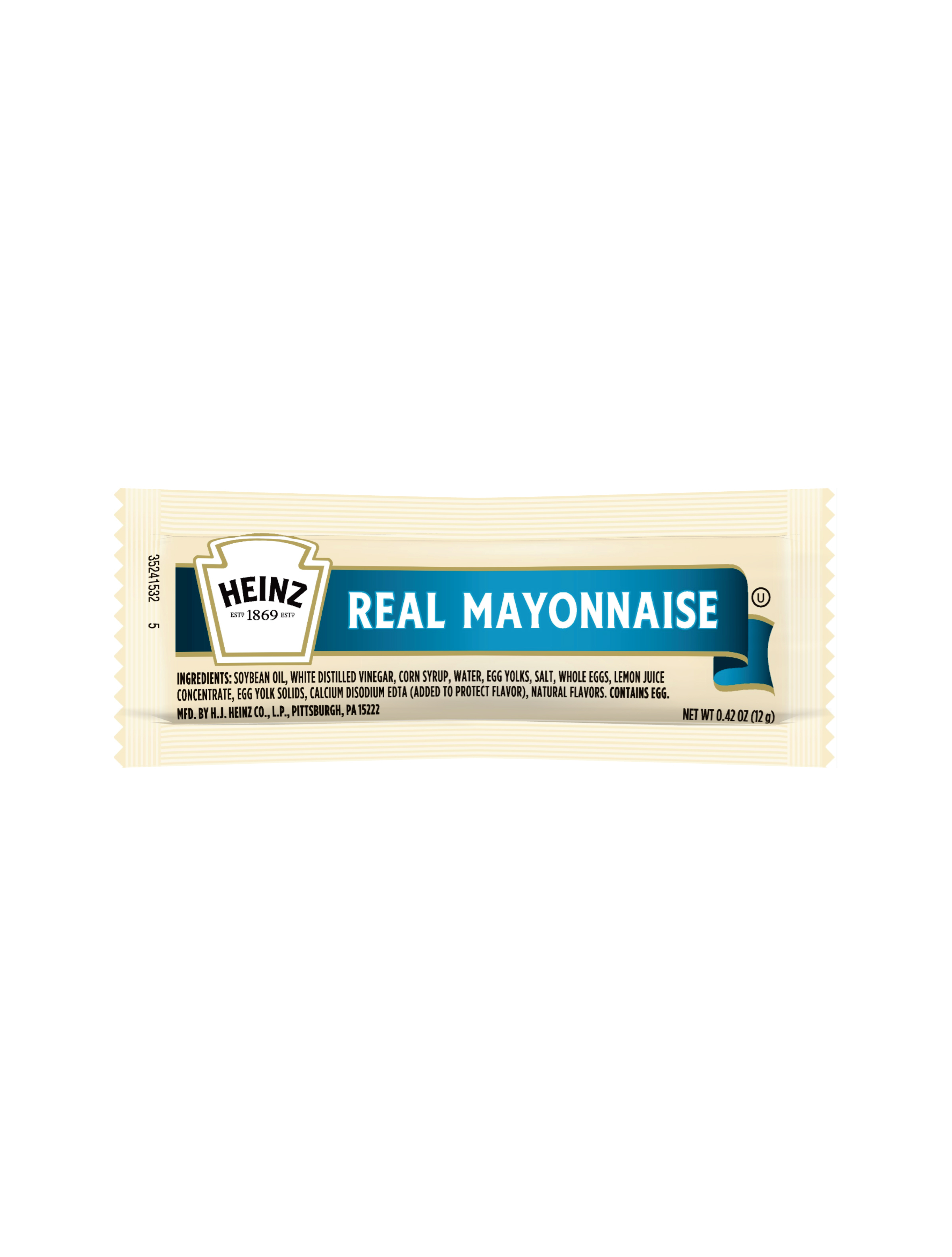 Heinz Mayonnaise Packet, 12 gm. image