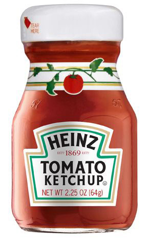 Heinz Tomato Ketchup 2.25 mL Bottle