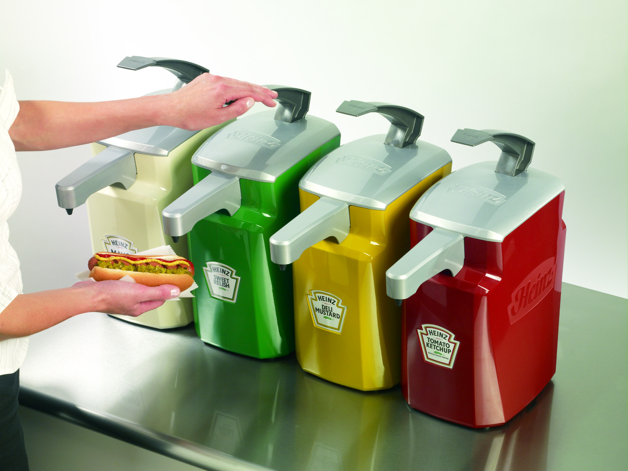 Enhance Your Dining Hall with Heinz Keystone™ Dispensers