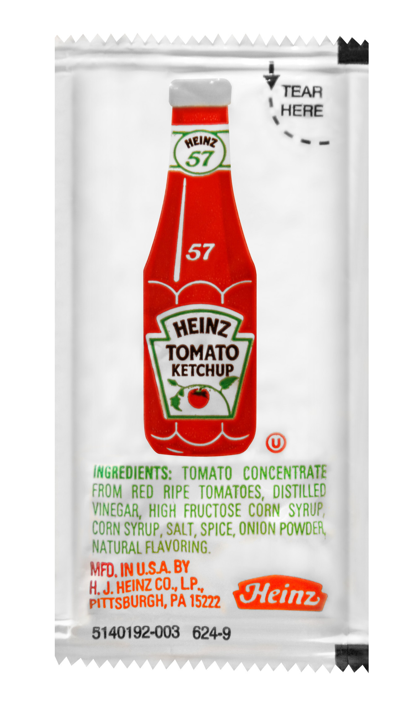 Heinz Ketchup Packet, 9 gm. image