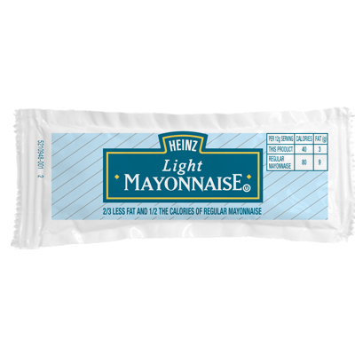 Heinz Light Mayonnaise Packet, 12 g. image
