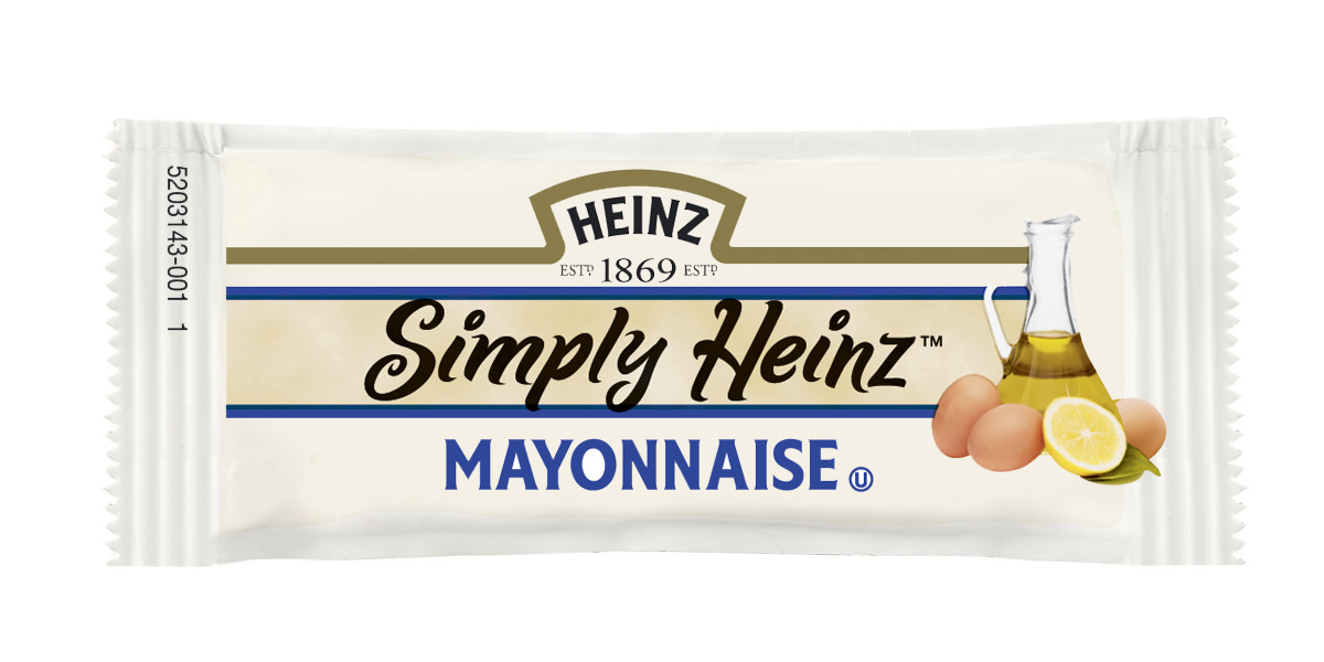 Simply Heinz Mayonnaise Packet, 12 gm. image