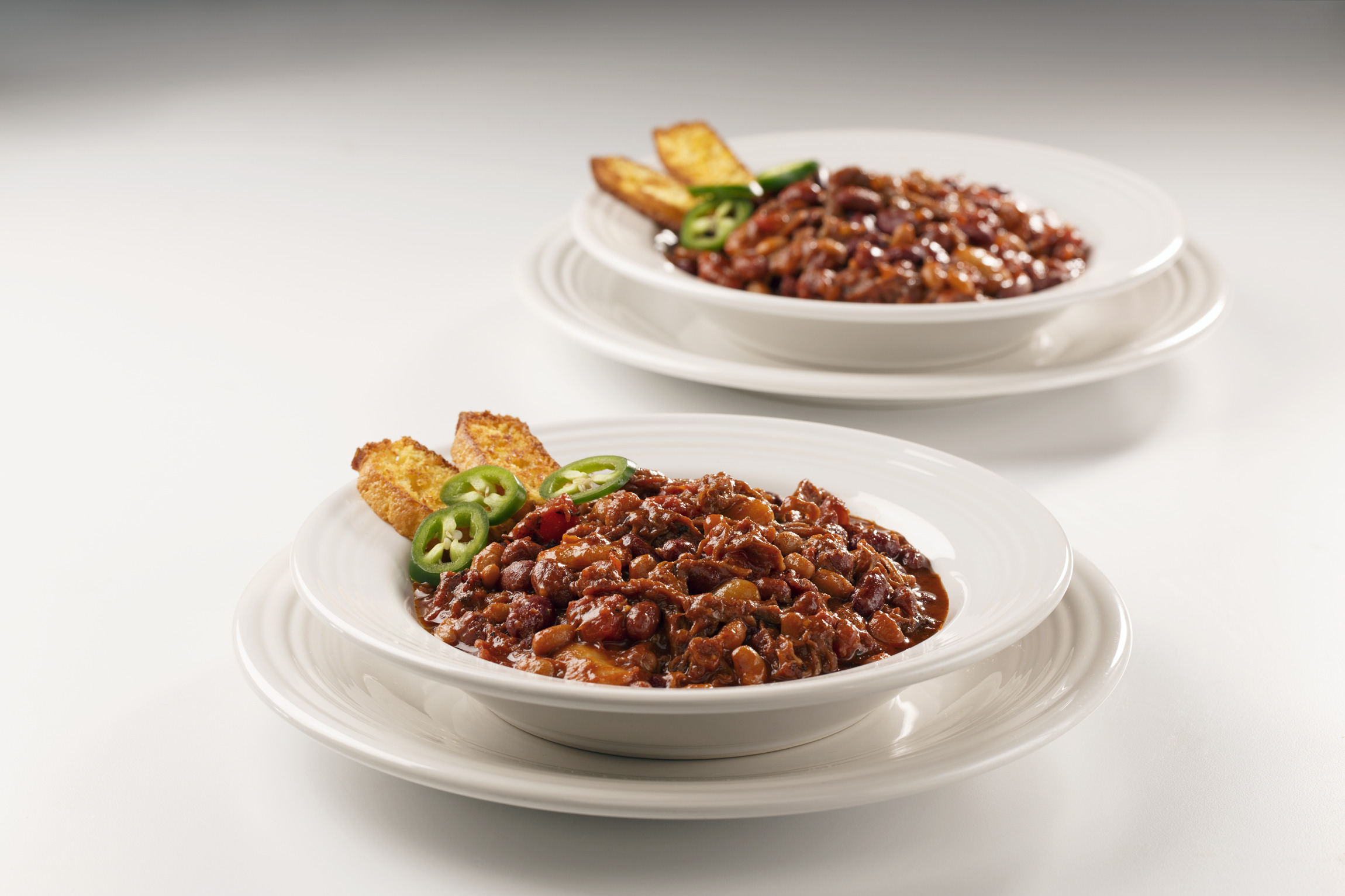 Quality Chef Baked Beans, 8 lb. image