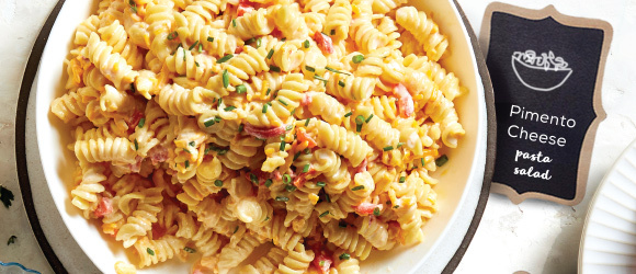 Pimento-Cheese Pasta Salad