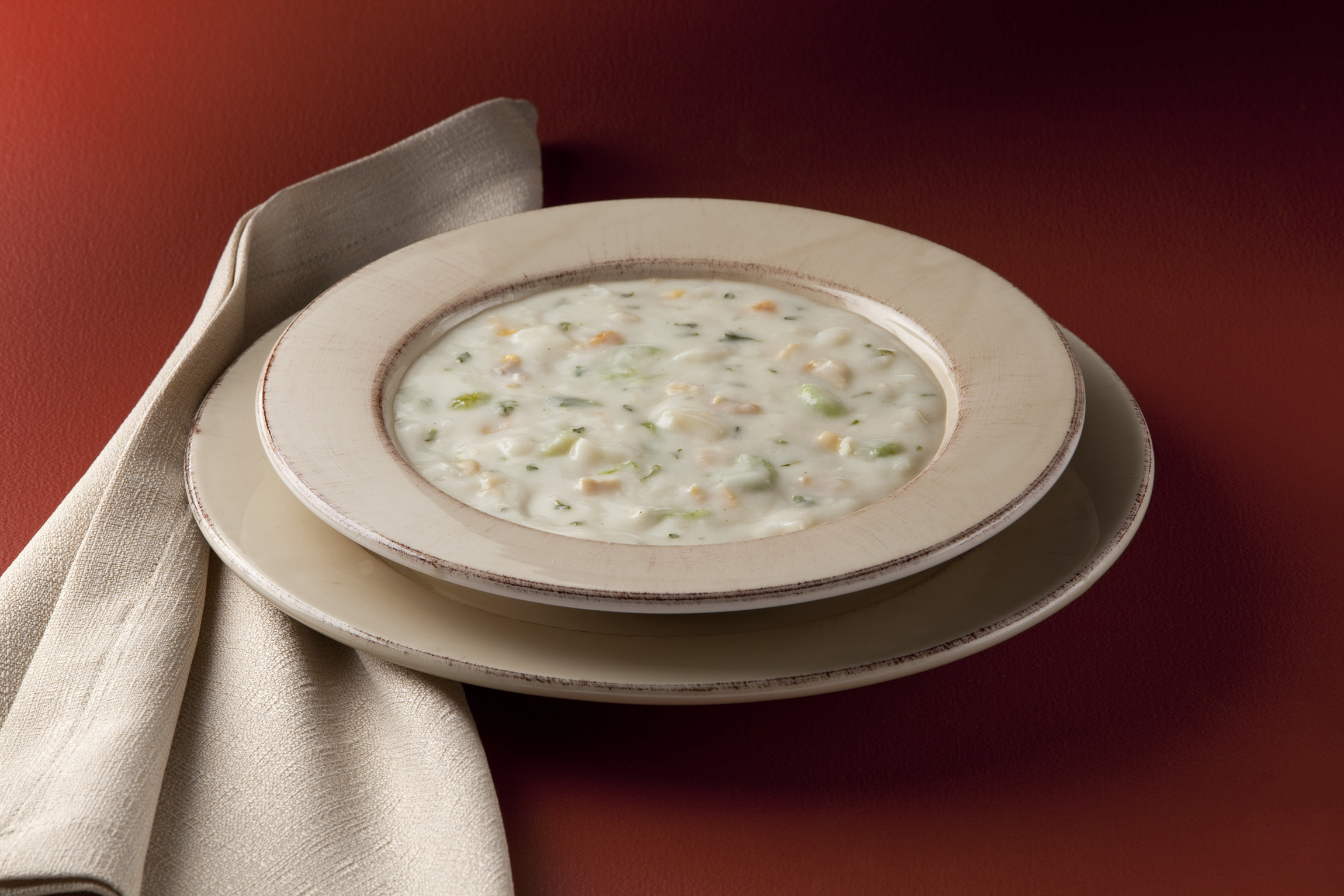 TrueSoups Boston Clam Chowder, 8 lb.