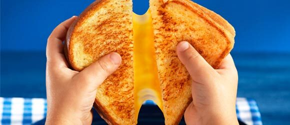America's Favorite Grilled Cheese Sandwich