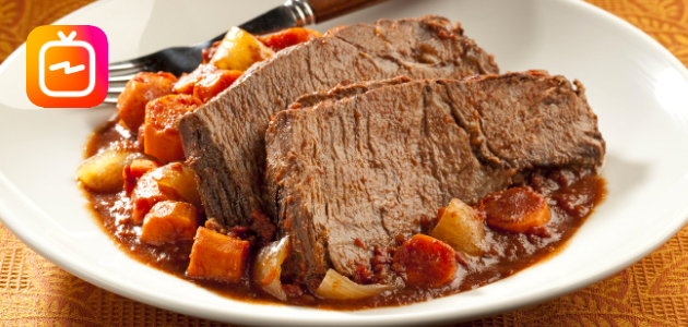 Slow-Cooker Zesty Italian Pot Roast