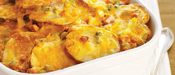 Easy Scalloped Potatoes with Cheese