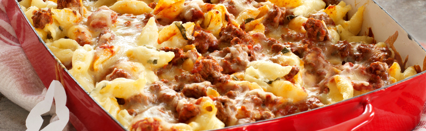 Make-Ahead Unstuffed Shells