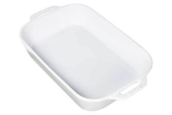 Neutral Ceramic Baking Dish